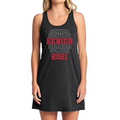 Funny Senior 2021 Class Of 2021 Graduate Shirt Graduation Party T Shir Tank Dress Designed By G3ry