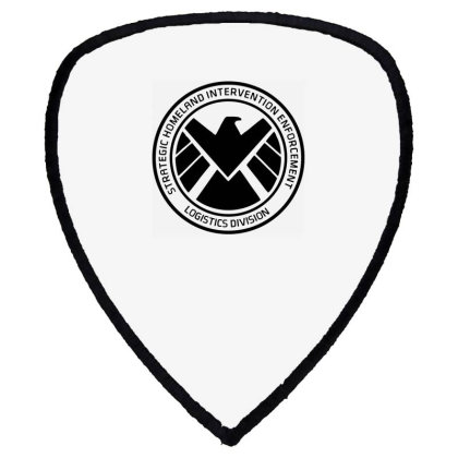 Agents Of Shield   Black Shield S Patch Designed By Beach Boy