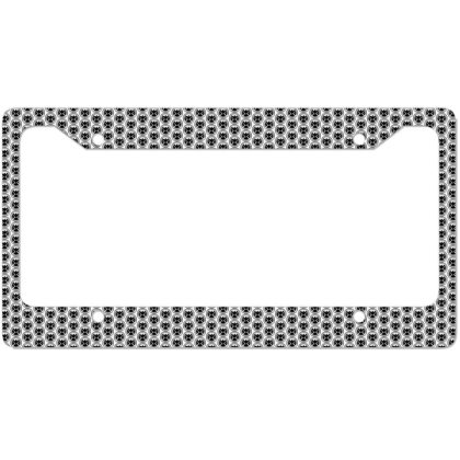 Agents Of Shield   Black License Plate Frame Designed By Beach Boy