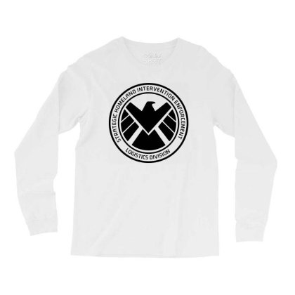 Agents Of Shield   Black Long Sleeve Shirts Designed By Beach Boy