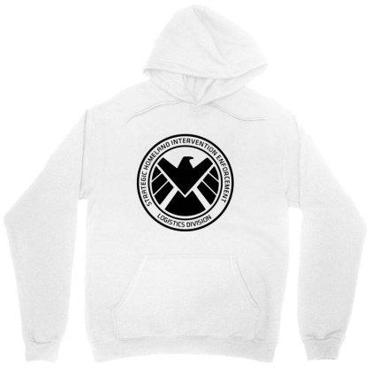 Agents Of Shield   Black Unisex Hoodie Designed By Beach Boy