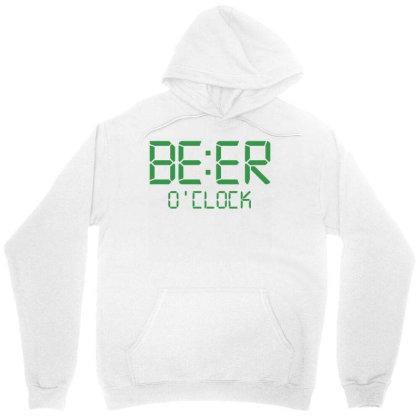 Funny T Shirt Beer O'clock Regular Fit 100% Cotton Tee Unisex Hoodie Designed By G3ry