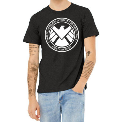Agents Of Shield   White Heather T-shirt Designed By Beach Boy
