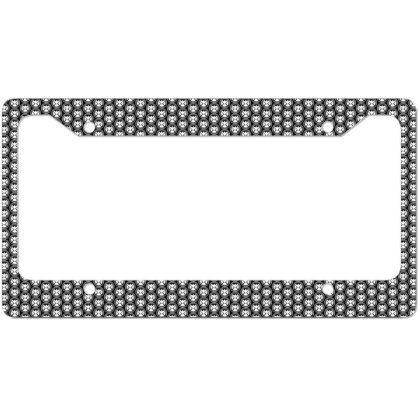 Agents Of Shield   White License Plate Frame Designed By Beach Boy