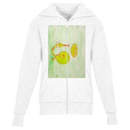 Beach Blast Youth Zipper Hoodie Designed By Artvibes