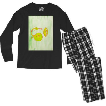 Beach Blast Men's Long Sleeve Pajama Set Designed By Artvibes