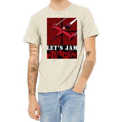 Bebop Ship Heather T-shirt Designed By Beach Boy