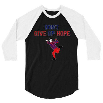 Dont Give Up 3/4 Sleeve Shirt Designed By Beach Boy
