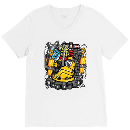 Thailook V-neck Tee Designed By Jcs Printing Services And Supplies