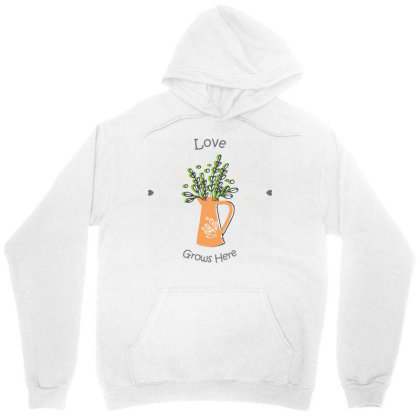 Love Nature Unisex Hoodie Designed By V8 Visuals