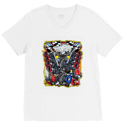 Thailook 2 V-neck Tee Designed By Jcs Printing Services And Supplies