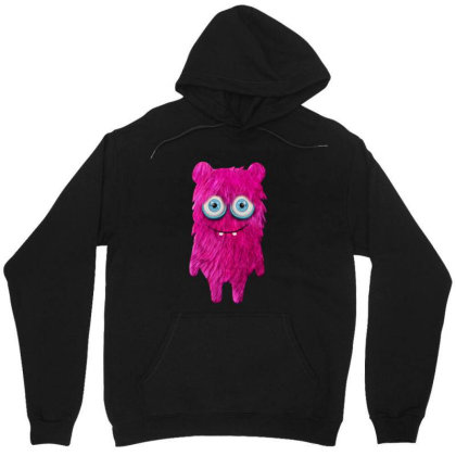 Cute Monster Baby Monster Face Eye Funny Halloween Gift Unisex Hoodie Designed By Love Shiga
