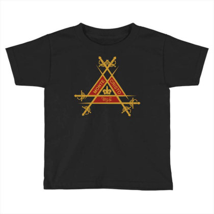 Montecristo Fancy Toddler T-shirt Designed By Fr47