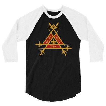 Montecristo Fancy 3/4 Sleeve Shirt Designed By Fr47