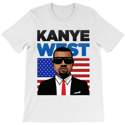 Kanye West   He's President In 2020 T-shirt Designed By Donkey Apparel