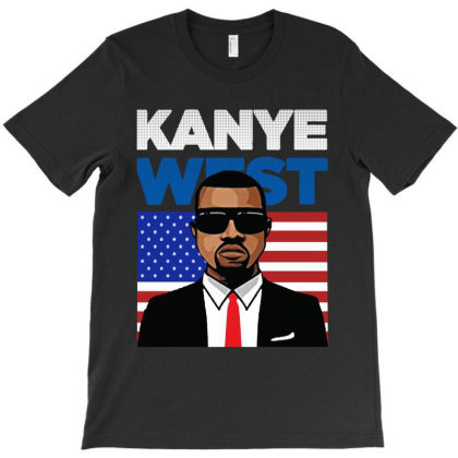 Kanye West  President In 2020 T-shirt Designed By Donkey Apparel