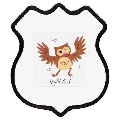 Night Owl Shield Patch Designed By Varu_0210