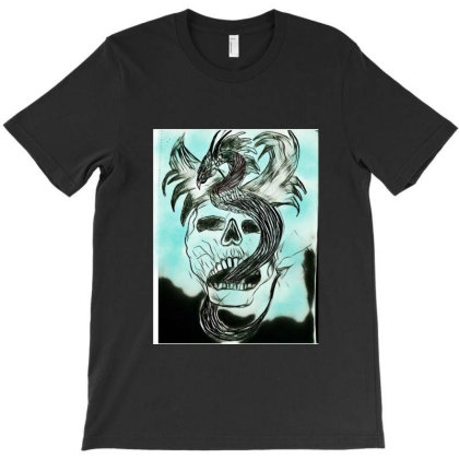 Dead Dragon T-shirt Designed By Swati455