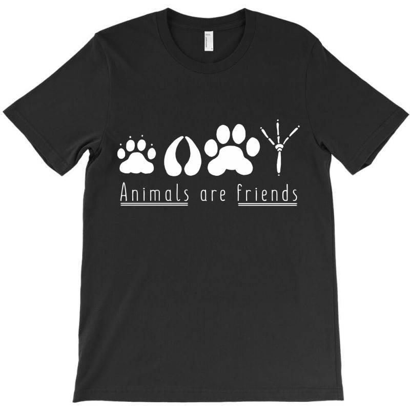 Animals Are Friends T-shirt | Artistshot