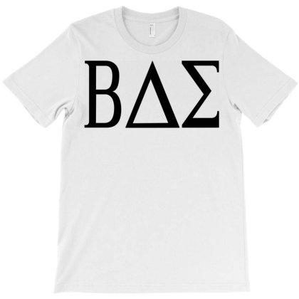 Bae College Greek Letters T-shirt Designed By L4l4pow