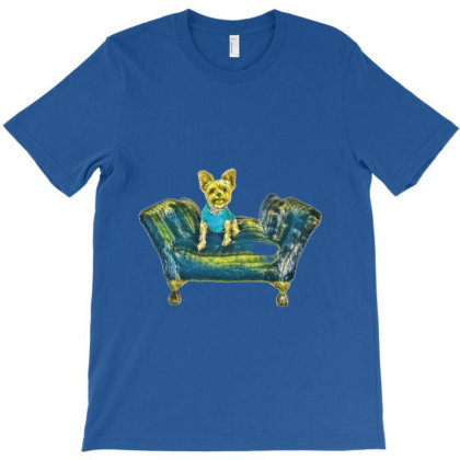 Yorkshire Terrier Puppy Weari T-shirt Designed By Kemnabi