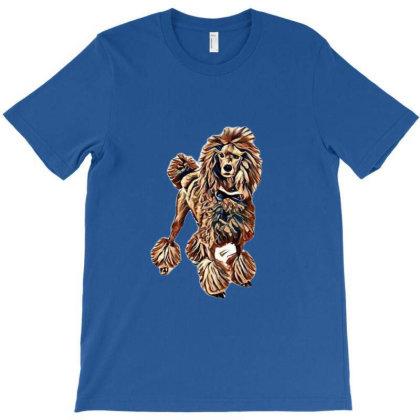 Beautiful Large Standard Pood T-shirt Designed By Kemnabi