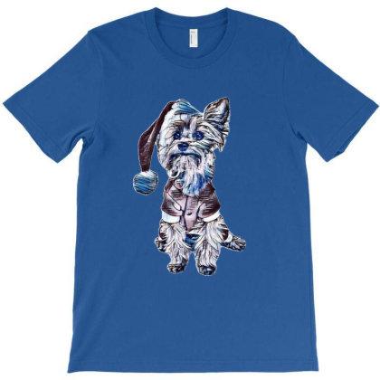 Yorkshire Terrier Dog Wearing T-shirt Designed By Kemnabi