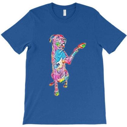 Great Dane Dog Extending His T-shirt Designed By Kemnabi