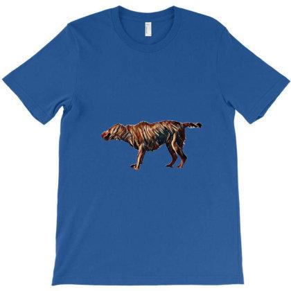 A Chocolate Color Labrador Re T-shirt Designed By Kemnabi