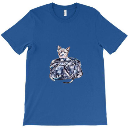 A Cute Small Yorkshire Terrie T-shirt Designed By Kemnabi
