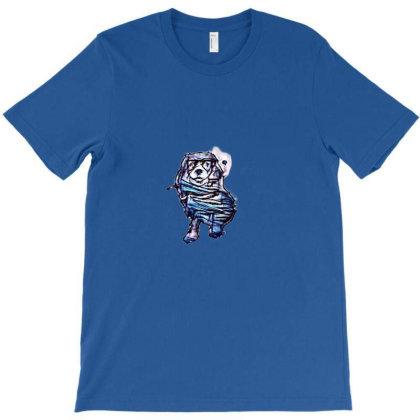 Yorkshire Terrier Dog Sitting T-shirt Designed By Kemnabi