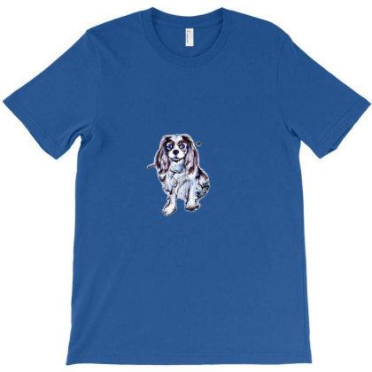 Cavalier King Charles Spaniel T-shirt Designed By Kemnabi