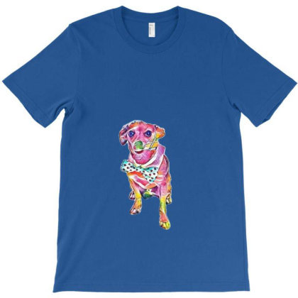 A Cute Little Chihuahua Dog W T-shirt Designed By Kemnabi