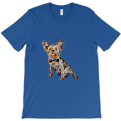 A Yorkshire Terrier Puppy Iso T-shirt Designed By Kemnabi