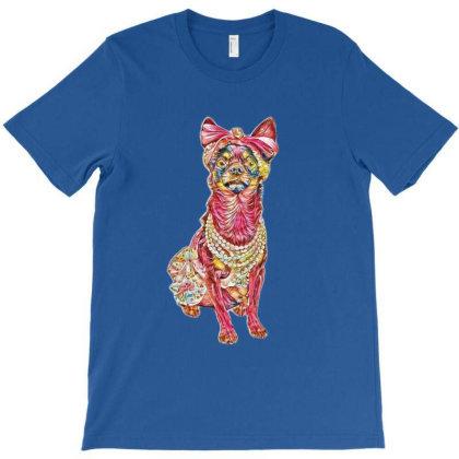 A Beautiful Chihuahua Dog Iso T-shirt Designed By Kemnabi
