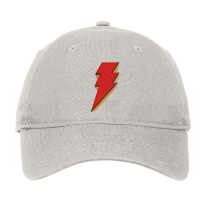 Shazam Embroidery Embroidered Hat Adjustable Cap Designed By Madhatter