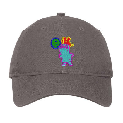 Okay World Embroidered Hat Adjustable Cap Designed By Madhatter