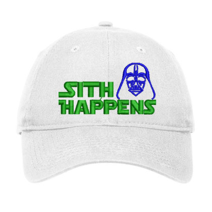 Sith Happens Embroidered Hat Adjustable Cap Designed By Madhatter