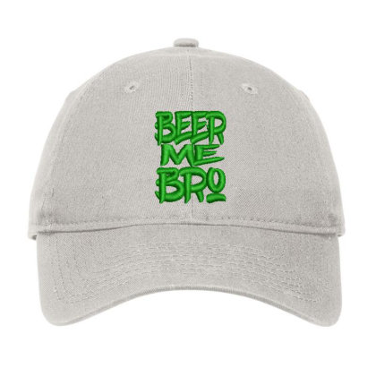 Beer Me Bro Embroidered Hat Adjustable Cap Designed By Madhatter