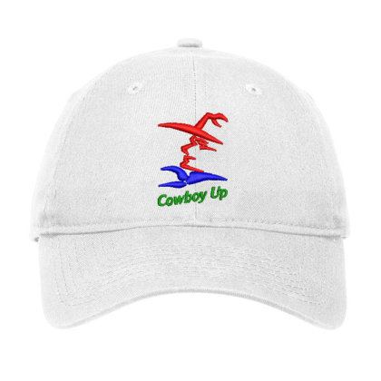 Cowboy Embroidered Hat Adjustable Cap Designed By Madhatter