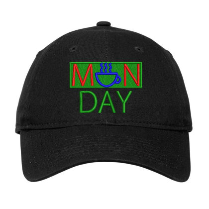 Manday Embroidered Hat Adjustable Cap Designed By Madhatter