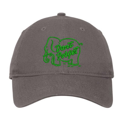 Don't Forget Embroidered Hat Adjustable Cap Designed By Madhatter