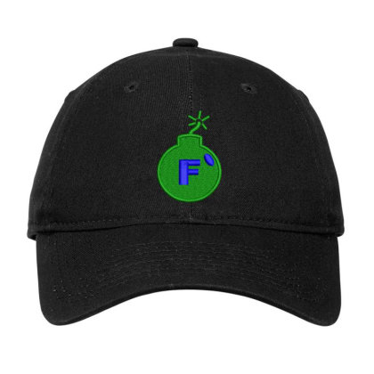 F * Embroidered Hat Adjustable Cap Designed By Madhatter