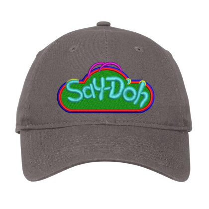 Say-doh Embroidered Hat Adjustable Cap Designed By Madhatter