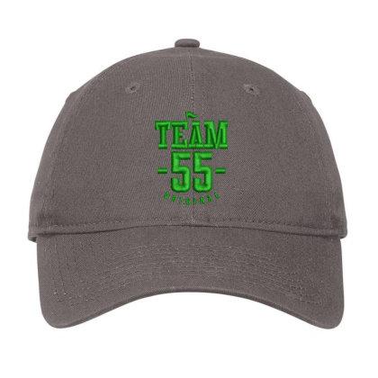 Team 55 Embroidered Hat Adjustable Cap Designed By Madhatter