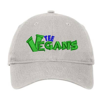 The Vegans Embroidered Hat Adjustable Cap Designed By Madhatter