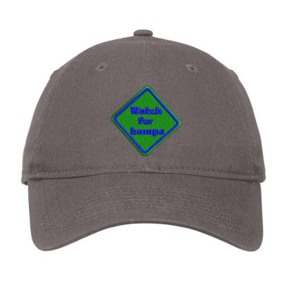 Watch For Bumps Embroidered Hat Adjustable Cap Designed By Madhatter