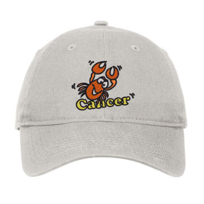 Cancer Zodiac Cat Adjustable Cap Designed By Madhatter