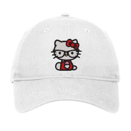 Cat Embroidered Hat Adjustable Cap Designed By Madhatter