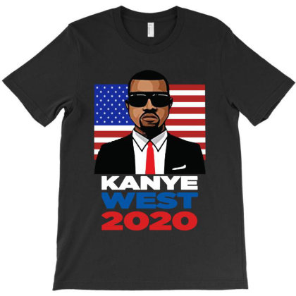 Kanye West  Running For President In 2020 T-shirt Designed By Donkey Apparel